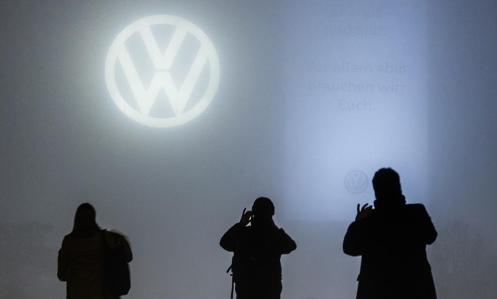 Aussenaufnahme Volkswagen AG waehrend Abgasaffaire