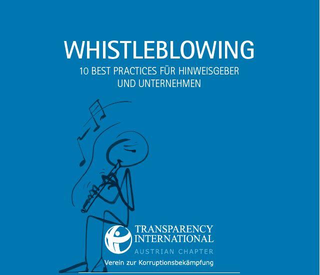 Whistleblowing Leitfaden